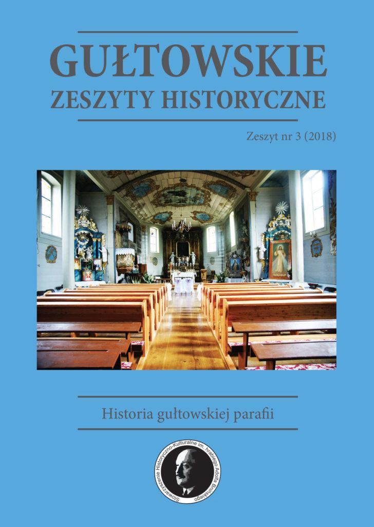 Okładka Historia gułtowskiej parafii, Numer 3, 2018