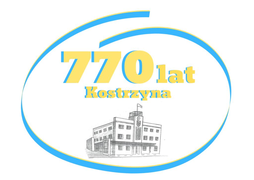 logo obchodów 770 lat Kostrzyna