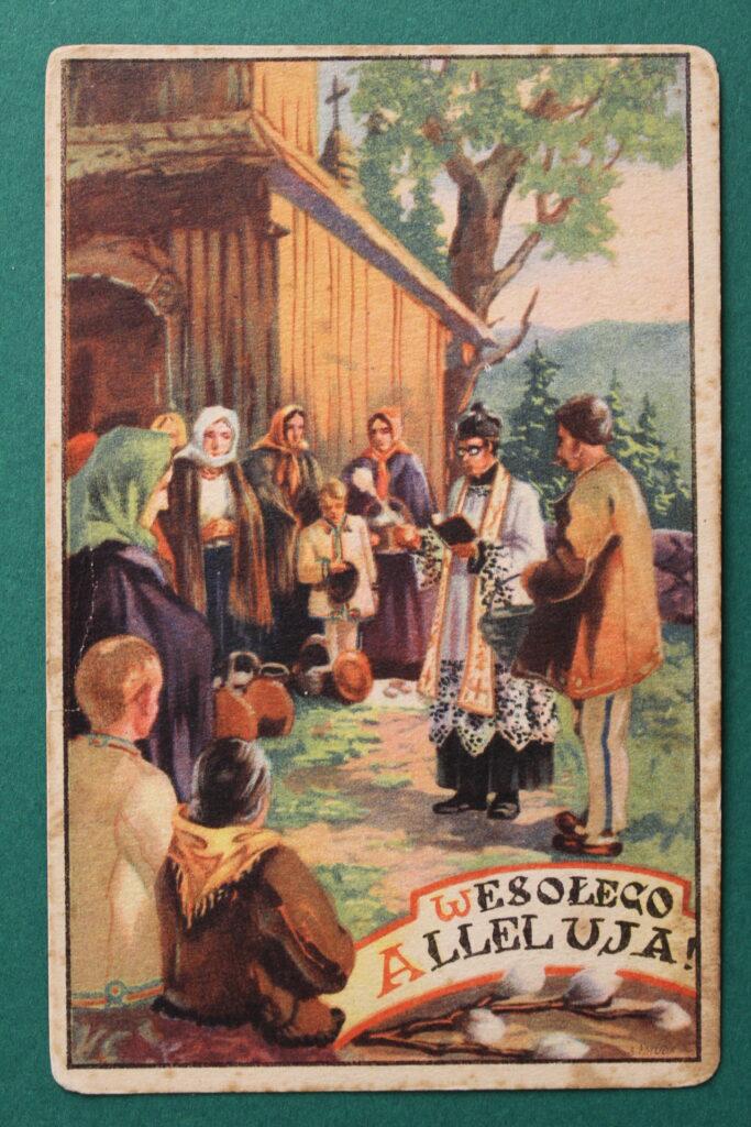 święcenie pokarmów przedkościołem