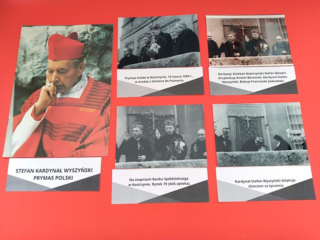 Zdjęcia zwystawy poświęconej Kardynałowi Wyszyńskiemu